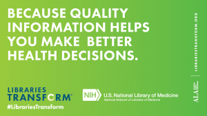 Because Quality Information Helps You Make Better Health Decisions