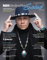 Cover of NIH MedlinePlus Salud magazine