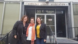 GMR staff in front of ALA offices