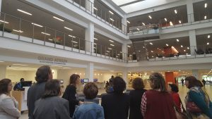 Tour of the library