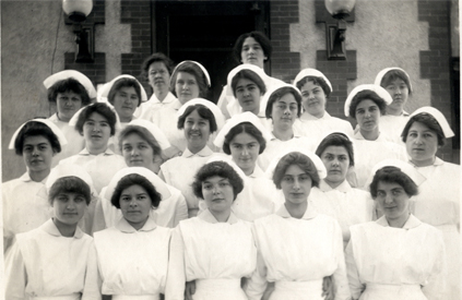 First Class of Pupil Students, Crouse-Irving Hospital Training School for Nurses, 1913