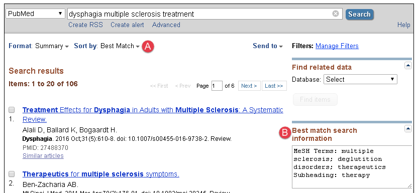 search results for dysphagia multiple sclerosis treatment filtered by best match