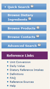 Dietary Supplement Label Database