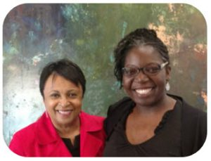 Dr. Carla Hayden, 14th librarian of Congress and Lydia Collins, NNLM MAR