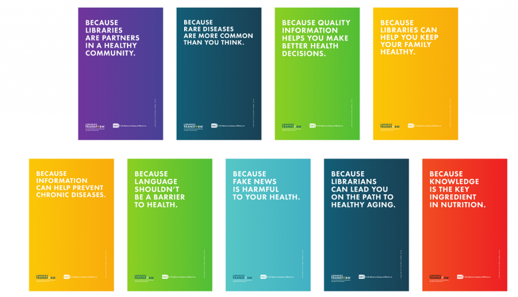 Libraries Transform Health Literacy Toolkit Because Statements