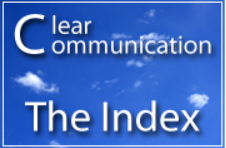 clear communication, the index