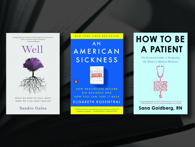 three book club selections for health literacy