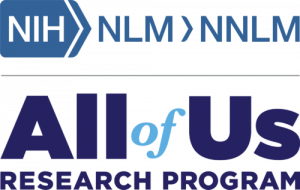 NNLM and All of Us Research Program logos