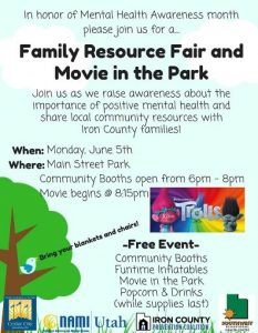 Family Resource Fair poster