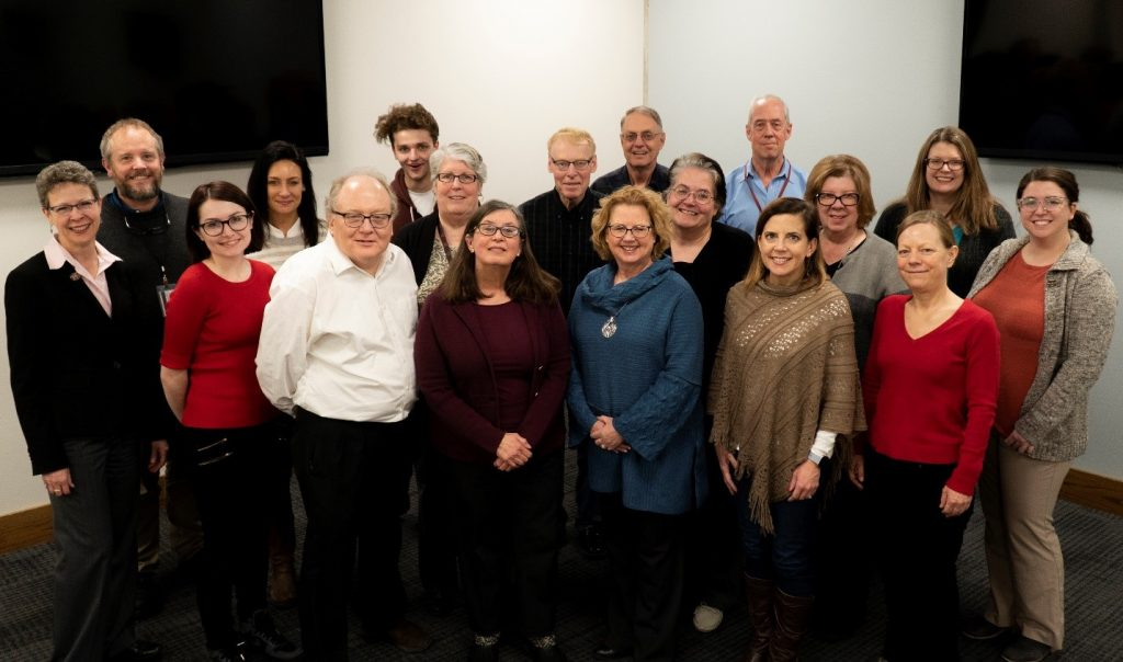 Photo of MidContinental Region staff and Partner Library Directors