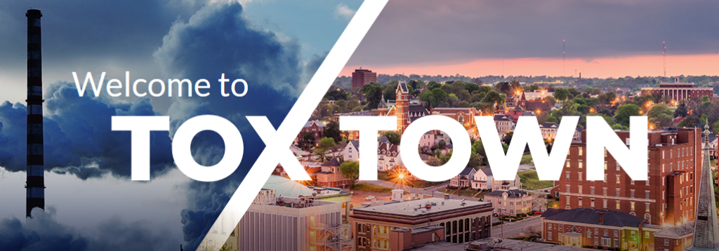 Tox town graphic