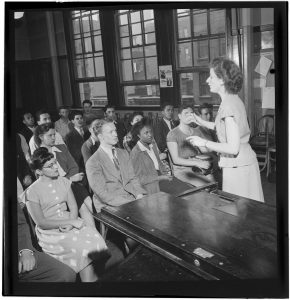1947 Vocational Classroom
