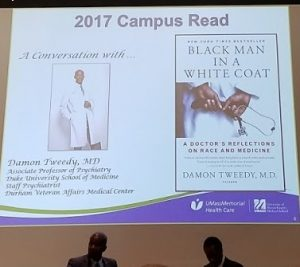 Screen from 2017 Campus Reads