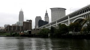 View of downtown Cleveland