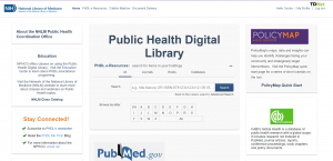PHDL Central webpage