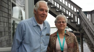 Dr. Donald Lindberg and Joyce Mitchell