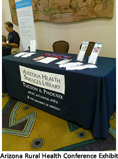 AHSL Exhibit at the Rural Health Conference