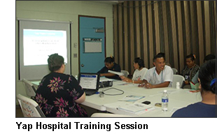 Yap Training Session Photo