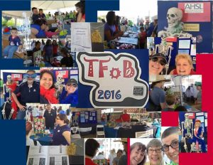 Collage of Tucson Festival of Books events