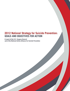 Cover image of National Strategy for Suicide Prevention report