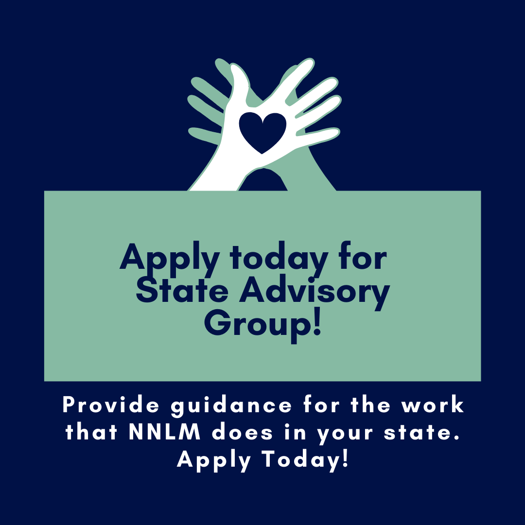 Apply today for State Advisory Groups