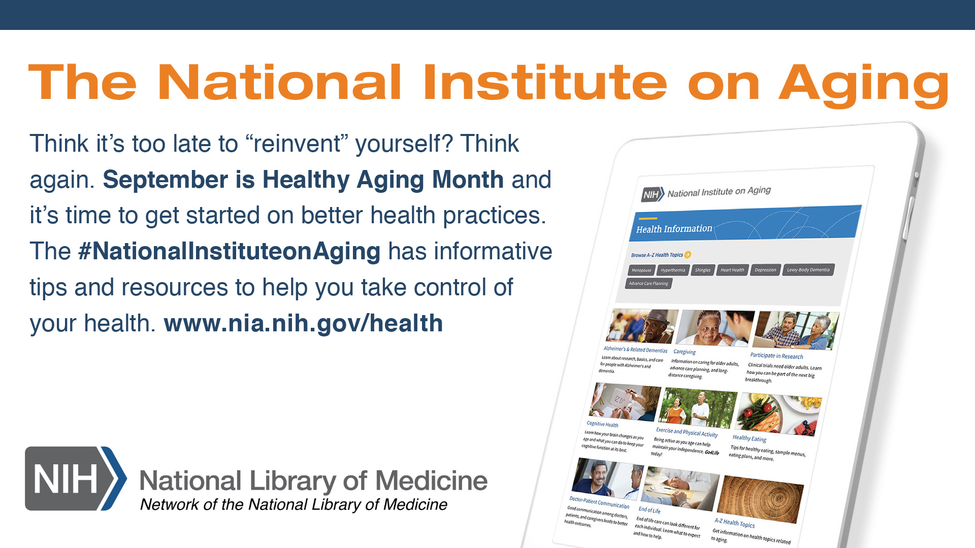 Healthy Aging Graphic