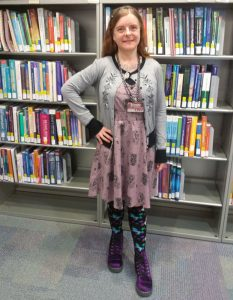 Mandie Mims, Reference Librarian, TWU - Dallas Center Library