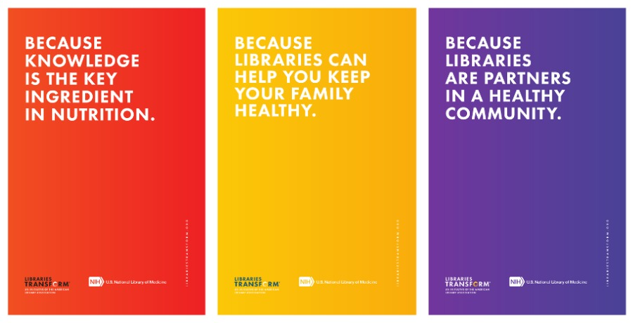 Libraries Transform Banners