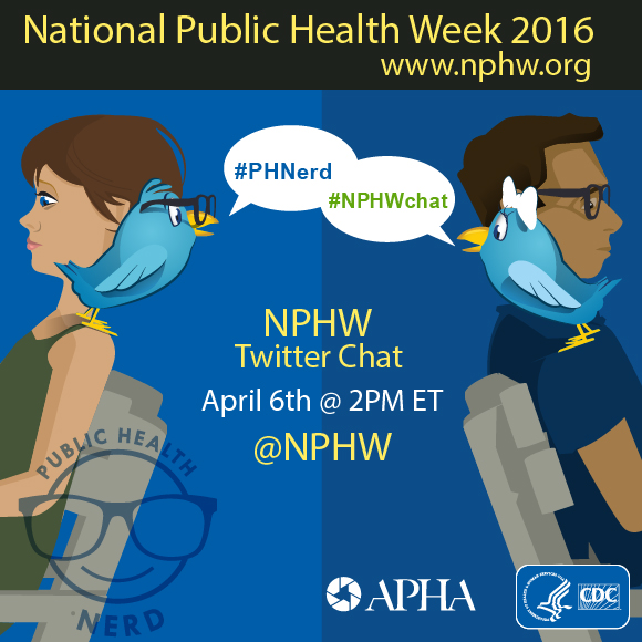National Public Health Week Twitter chat