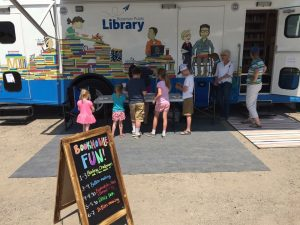 Bozeman Public Library bookmobile