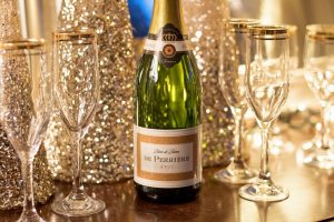 photo of champagne and glasses