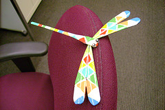 Dragonfly, a gift from Dolores Judkins